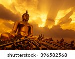 The Large Golden Buddha With...
