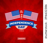 independence day of america.... | Shutterstock .eps vector #396632386