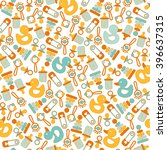 seamless background pattern for ... | Shutterstock .eps vector #396637315