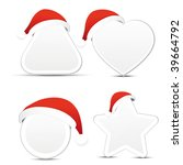 christmas icons | Shutterstock .eps vector #39664792