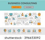 linear concept web banner and... | Shutterstock . vector #396653092