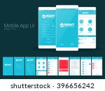 material design ui  ux and gui... | Shutterstock .eps vector #396656242