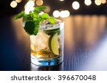 old fashioned cocktail with... | Shutterstock . vector #396670048