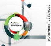 colorful flat design vector...   Shutterstock .eps vector #396675232