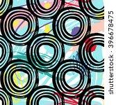 modern kids seamless pattern... | Shutterstock .eps vector #396678475