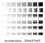 set of 48 triangle stipple... | Shutterstock . vector #396697465
