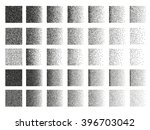 set of 35 square stipple... | Shutterstock . vector #396703042