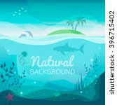 Tropical Sea Natural Backgroun...