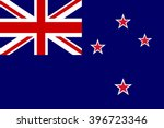 flag of new zealand | Shutterstock .eps vector #396723346