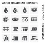 water treatment vector icon...