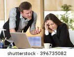 bullying with an out of control ... | Shutterstock . vector #396735082