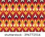 geometric ethnic oriental ikat... | Shutterstock .eps vector #396772516