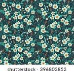 cute pattern in small flower.... | Shutterstock .eps vector #396802852