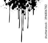 ink drips    vector illustration | Shutterstock .eps vector #396806782