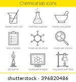 chemical laboratory equipment... | Shutterstock .eps vector #396820486