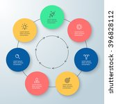 Outline Circular Infographic....