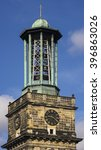 Stock photo belltower of aegidienkirche in hannover germany 396863026