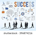 success victory mission... | Shutterstock . vector #396874216