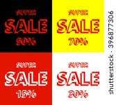 super sale vector illustration... | Shutterstock .eps vector #396877306
