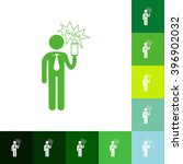 stick figure of human silhouette   Shutterstock .eps vector #396902032