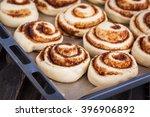 Raw Cinnamon Rolls. Preparation ...