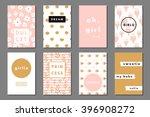 creative girlie printable... | Shutterstock .eps vector #396908272