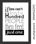 Food Quote. If You Can Not Fee...