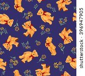 bear illustration pattern | Shutterstock . vector #396947905