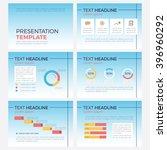template set of business.... | Shutterstock .eps vector #396960292
