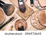 makeup products to even skin... | Shutterstock . vector #396973645
