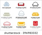 logos for furniture store. sofa ... | Shutterstock .eps vector #396983332