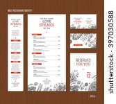 meat restaurant identity. meat...   Shutterstock .eps vector #397030588