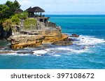 bali temple  | Shutterstock . vector #397108672