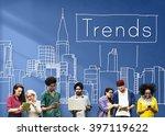trends trend trending trendy...   Shutterstock . vector #397119622