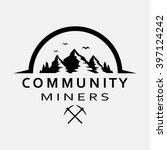 community miners  vector...   Shutterstock .eps vector #397124242