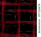 vector bold plaid pattern with... | Shutterstock .eps vector #397126678