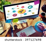 startup goals growth success... | Shutterstock . vector #397127698