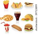 vector illustration of fast... | Shutterstock .eps vector #39713899