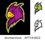 parrot sport mascot | Shutterstock .eps vector #397141822