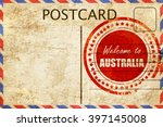 Vintage Postcard Welcome To...