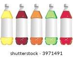 art illustration  bottles of... | Shutterstock .eps vector #3971491