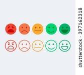 feedback vector concept. rank ... | Shutterstock .eps vector #397162318
