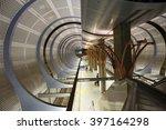 Los Angeles, CA. Metro. Metro station Hollywood/highland - stock photo