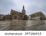 cathedral in riga  latvia | Shutterstock . vector #397186915