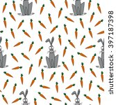 children's endless pattern with ...   Shutterstock .eps vector #397187398