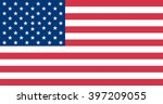 how a 51 star united states... | Shutterstock .eps vector #397209055