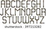 Industrial Metal Pipe Alphabet...