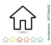 house icon | Shutterstock .eps vector #397256632