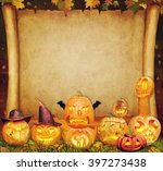 halloween background scroll...