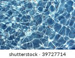 wishing well pond with coins...   Shutterstock . vector #39727714
